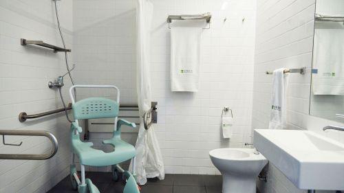Quarto com WC adaptados